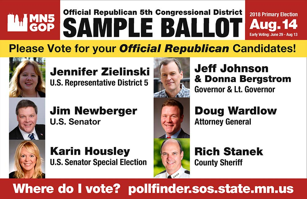 Republican Sample Ballot
